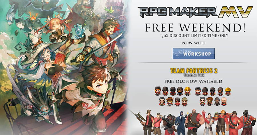 free weekend RPG Maker